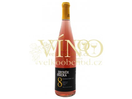 Zbyněk Osička Rulandské modré Rosé 2013 pozdní sběr 0,75 L polosuché moravské růžové víno Velké Bílovice