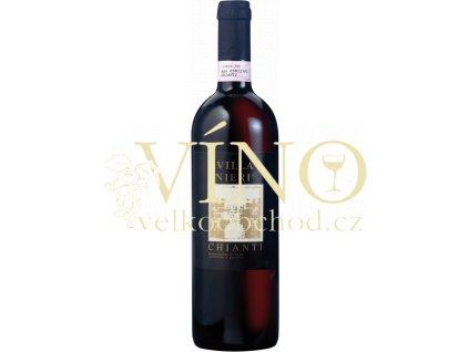Villa di Toscana Chianti DOCG Villa Nieri di Toscana červené italské víno z Toskánska