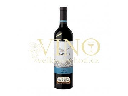 Trapiche Varietal Syrah 0,75 L suché argentinské červené víno z Mendozy