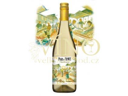 PLAISIR DE FRANCE Chardonnay 0,75 L suché francouzské bílé víno