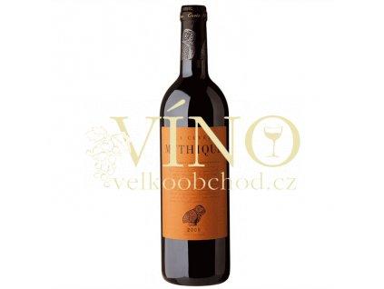 Val d'Orbieu-Uccoar La Cuvée Mythique Rouge Vin de Pays d´OC 0,75 L suché francouzské červené víno