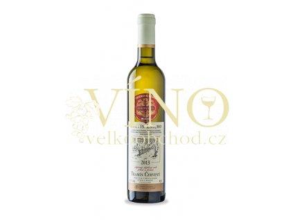 Akce ihned Znovín Znojmo TERROIR CLUB Tramín červený 2015 výběr z hroznů 0,5 L polosladké bílé víno