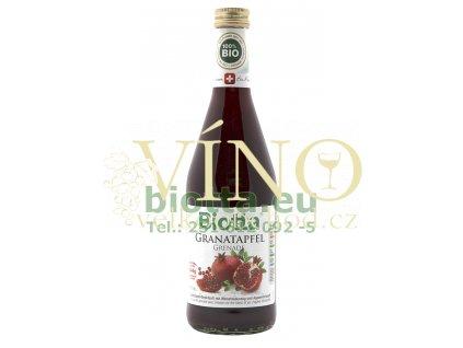 Biotta Granátové jablko 500 ml lisovaná šťáva s výtažkem z bílého čaje