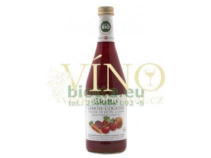 Biotta Zeleninový koktejl 500 ml šťáva z rajčat, celeru, karotky a červené řepy
