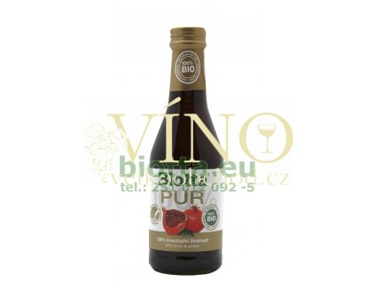 Biotta PUR koncentrát z granátového jablka 250 ml