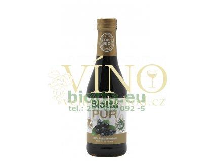 Biotta PUR koncentrát černý jeřáb (aronia-temnoplodec) 250 ml