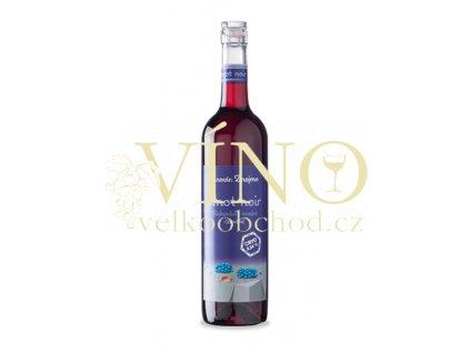 Znovín Znojmo Rulandské modré 2015 výběr z hroznů 0,75 L suché červené víno