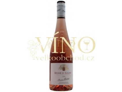 Pierre Brevin rosé d´Anjou 0,75 l francouzské růžové polosuché víno