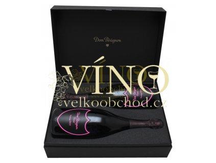 Akce ihned Champagne Dom Pérignon LUXUS DUO 2 x 75cl (Rosé 2005 Luminous & Rosé 2002 Luminous)