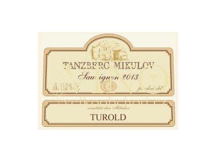 Akce ihned Tanzberg Sauvignon 2013 pozdní sběr 0,75 L suché moravské bílé víno - SALÓN VÍN
