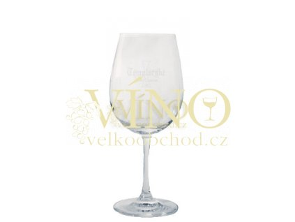Degustační sklenička s logem