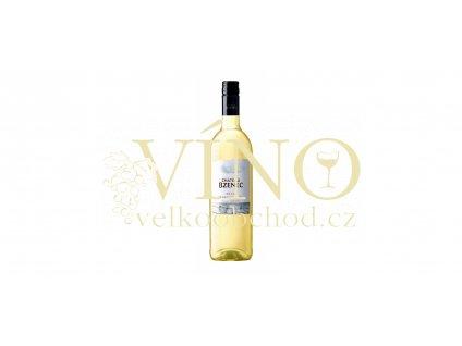 Chateau Bzenec Johanniter Merzling jakostní 0,75 L suché bílé BIO víno
