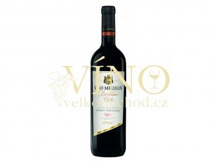 Víno Mikulov Modrý Portugal 2013 suché červené jakostní víno 0,75 L