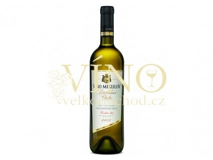 Víno Mikulov Rulandské bílé 2013 pozdní sběr suché bílé víno 0,75 L