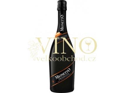 Mionetto Prosecco Prestige D.O.C. sekt extra dry 0,75 L italské šumivé víno