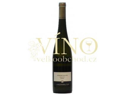 Weingut Langenwalter Sauvignon Blanc Trocken QbA 0,75 L suché německé bílé víno z Pfalz
