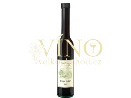 Gotberg Ryzlink vlašský 2011 slámové víno 0,2 L sladké moravské bílé víno