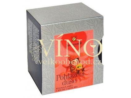 Akce ihned Sonnentor Pohlazení duše bio bylinná čajová směs s bílým čajem 30g pyramidové sáčky (12 ks á 2,5 g)