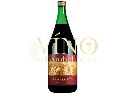 Campetto Lambrusco Scampolo Magnum 1,5 L italské šumivé červené víno z Puglia