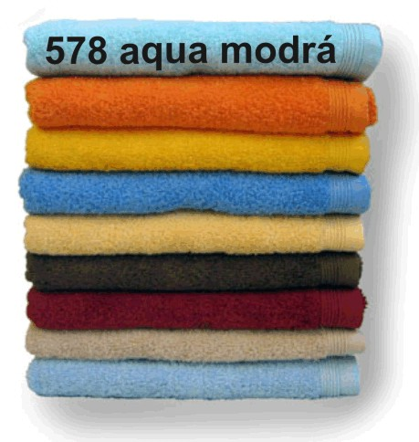 DIAMANT ručník 530g/m2 - aqua modrá