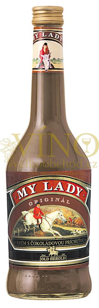 My Lady krém s čokoládovou príchuťou 17% 0.5 l, Old Herold