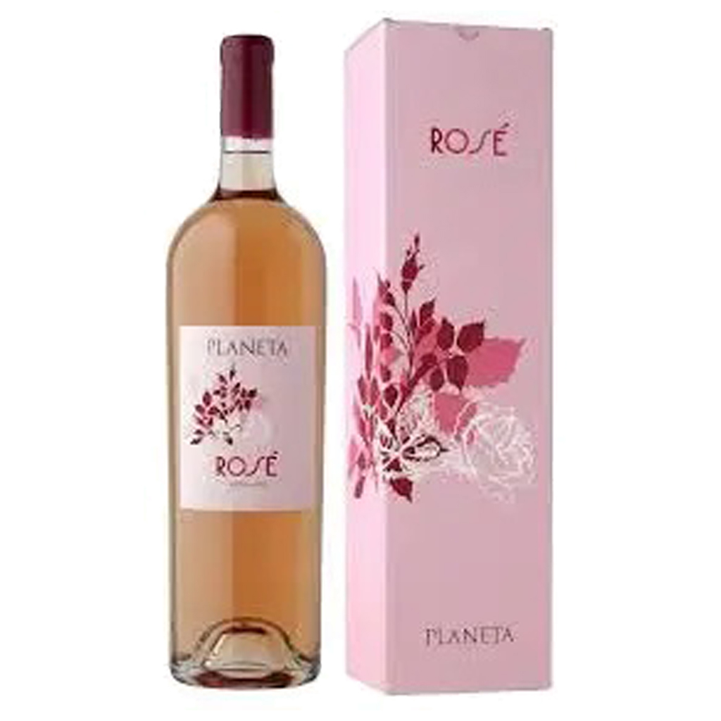 Planeta Rose Magnum paper box Wine of Italy Michal Procházka Vinotéka Klánovice