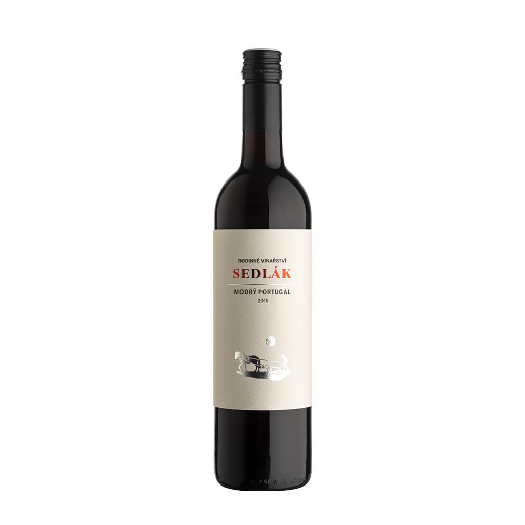 Modrý Portugal new moravské zemské víno Sedlák Vinotéka Klánovice