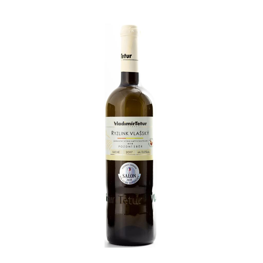 Tetur Ryzlink vlašský pozdní sběr Wine of Czech Republic Michal Procházka Vinotéka Klánovice