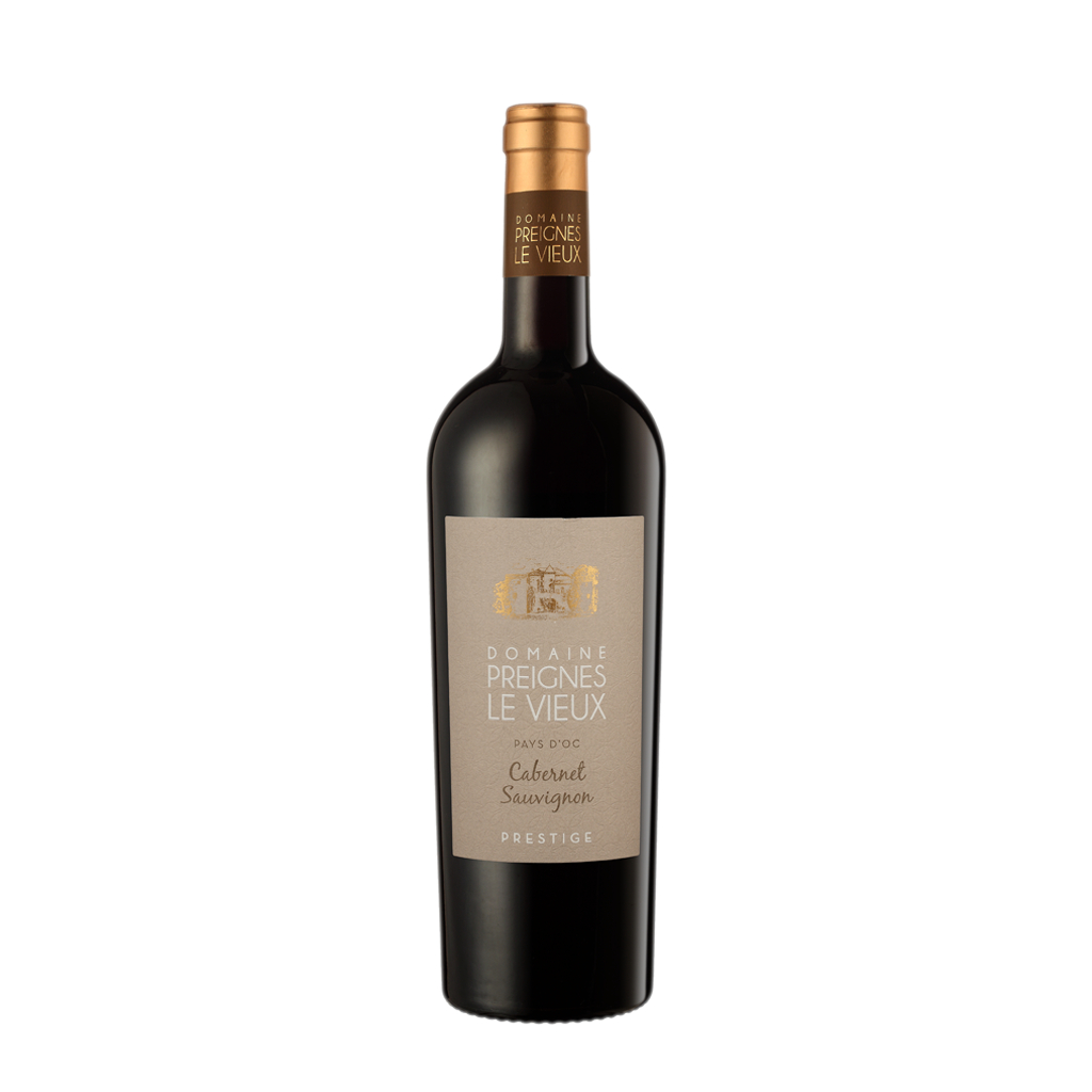Vic Prestige Cabernet Sauvignon Robert Vic Wine of France Michal Procházka Vinotéka Klánovice