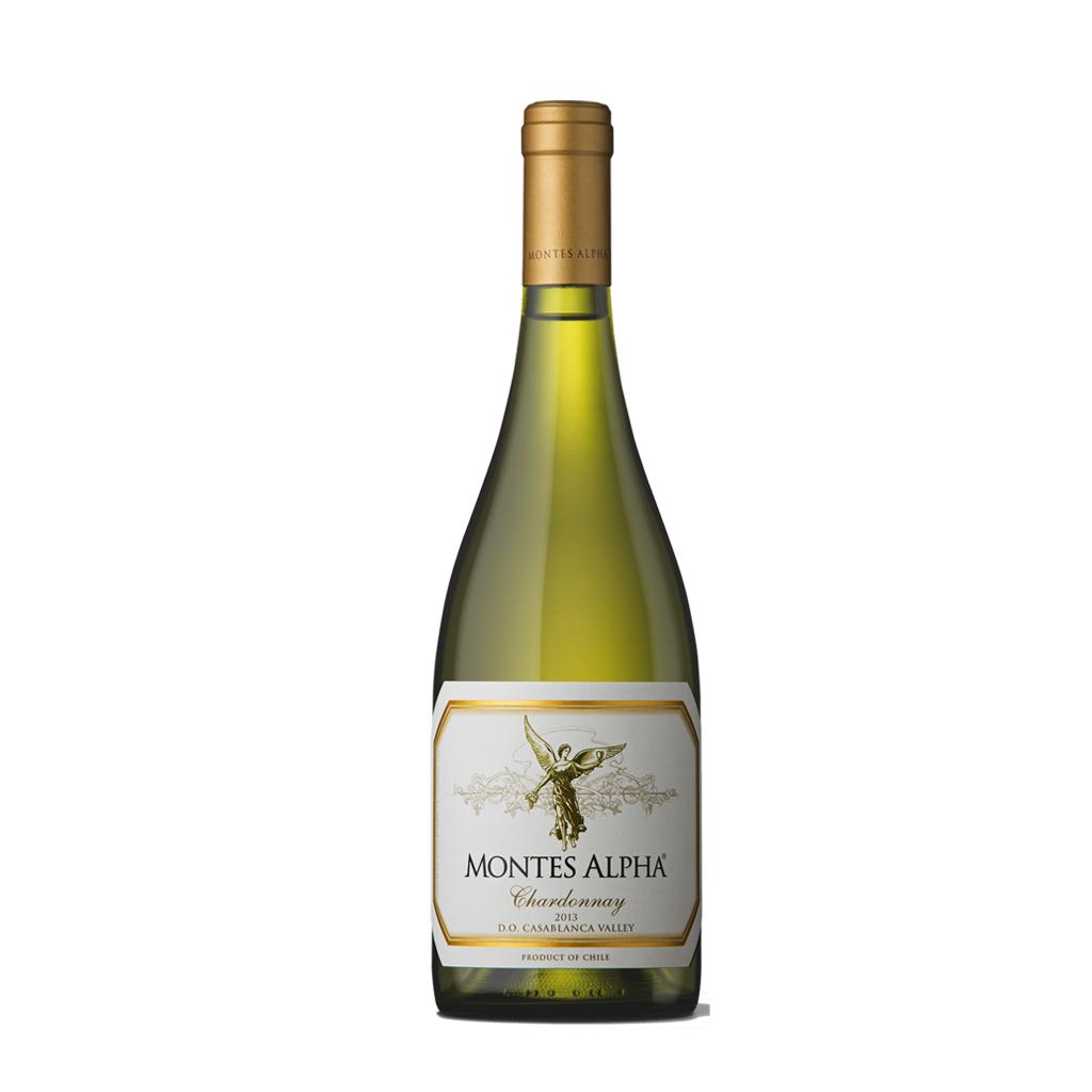 Montes Alpha Chardonnay Vino e Cuore 2013 Wine of Chile Michal Procházka