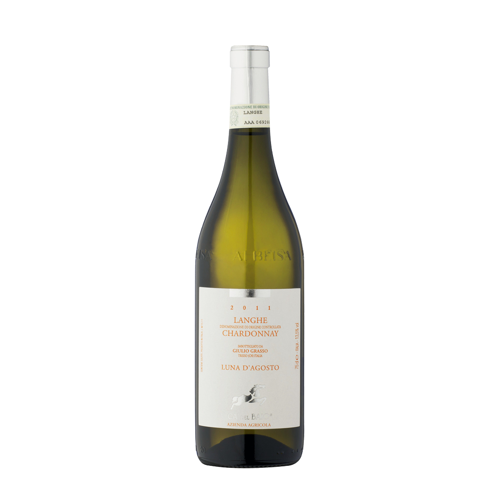 Chardonnay Luna D Agosto Ca del Baio Wine of Italy Michal Procházka Vinotéka Klánovice