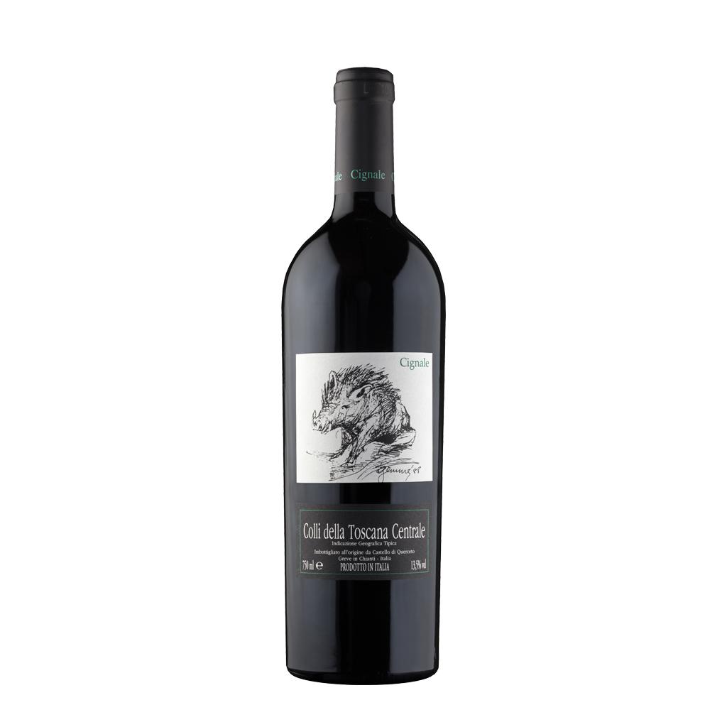 Cignale Castello di Querceto Wine of Italy Michal Procházka Vinotéka Klánovice