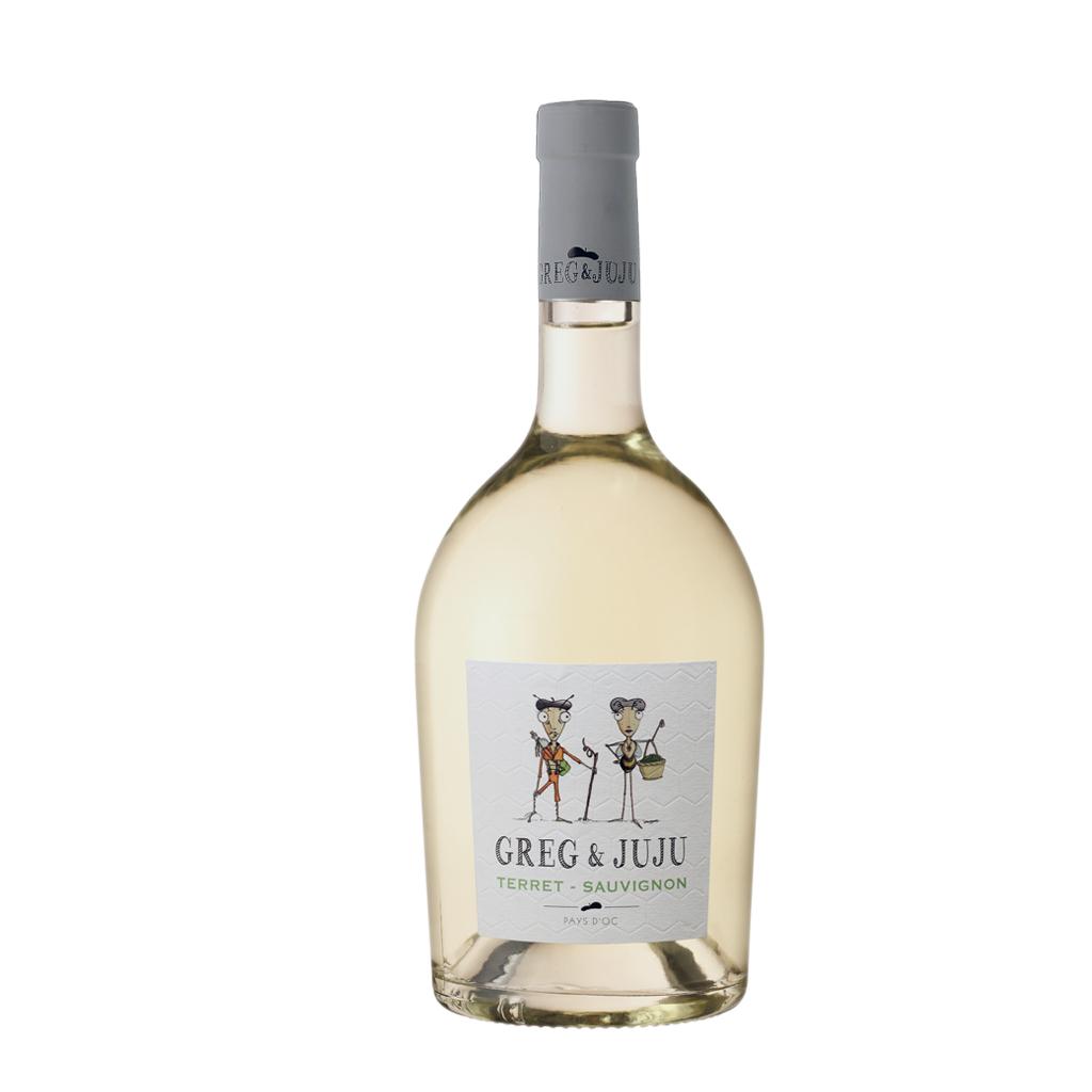 Vic Grag & Juju Terret Sauvignon Blanc Robert Vic Wine of France Michal Procházka Vinotéka Klánovice