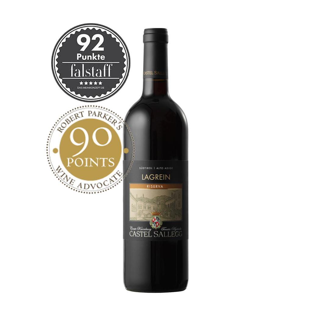 RP LAGREIN RISERVA Castell Sallegg Wine of Italy Michal Procházka Vinotéka Klánovice