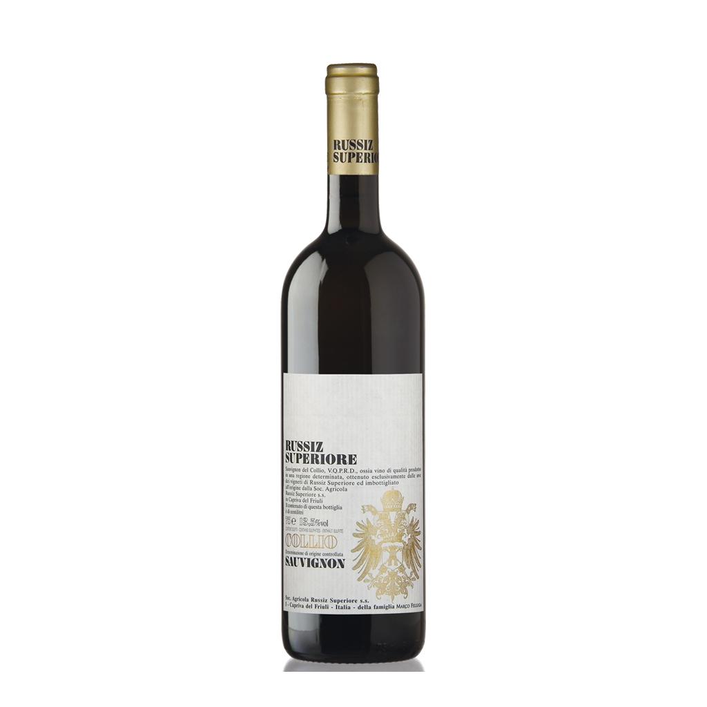 Sauvignon Russiz Superiore Marco Felluga Colio Wine of Italy Michal Procházka Vinotéka Klánovice