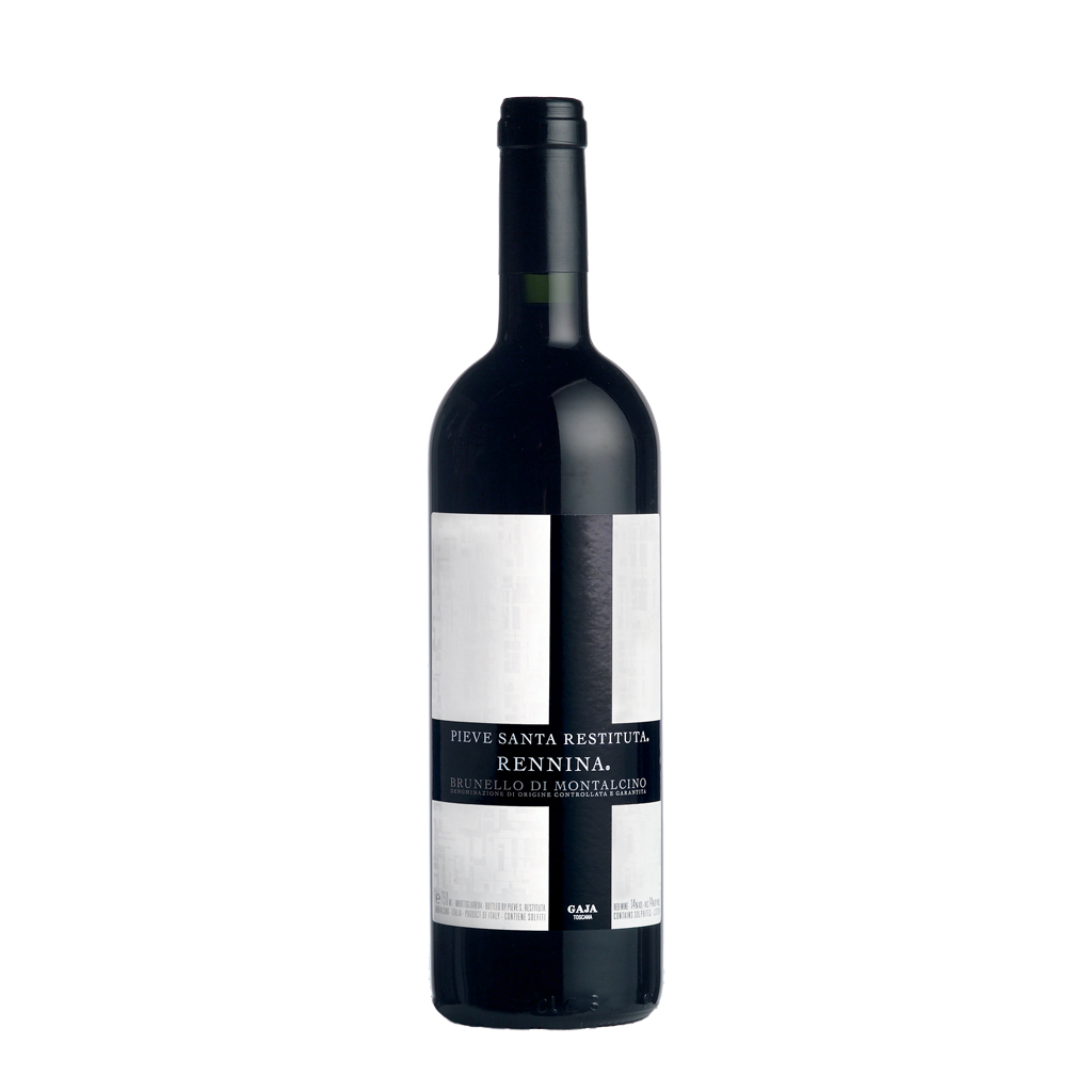Rennina Brunello di Montalcino Pieve Santa Restituta Gaja Wine of Italy Michal Procházka Vinotéka Klánovice