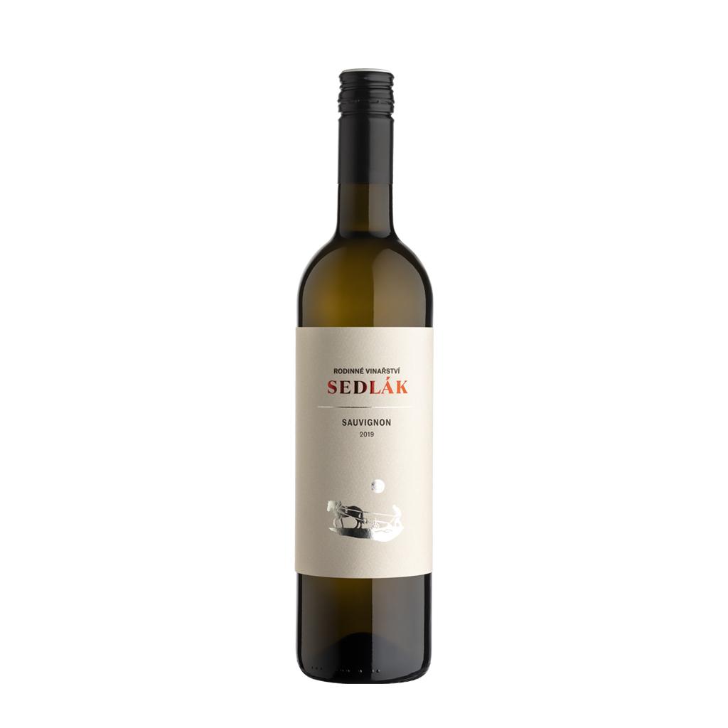Sauvignon moravské zemské víno Sedlák Vinotéka Klánovice