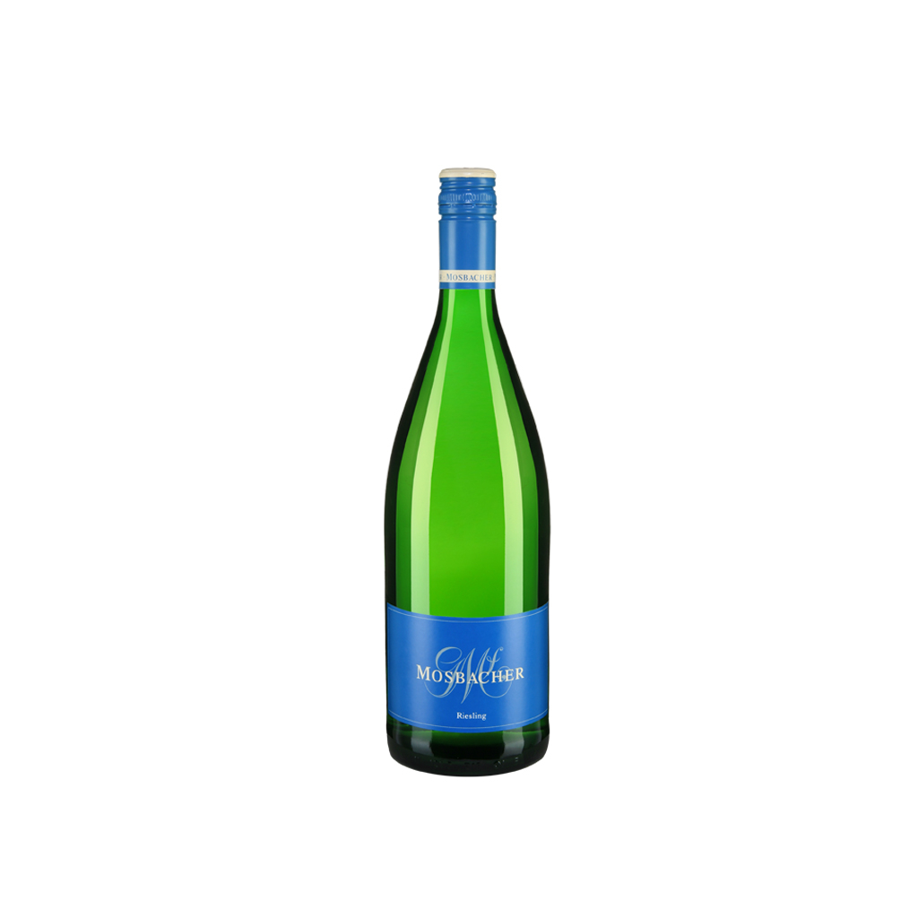 1 liter Riesling Georg Mosbacher Wine of Germany Michal Procházka Vinotéka Klánovice