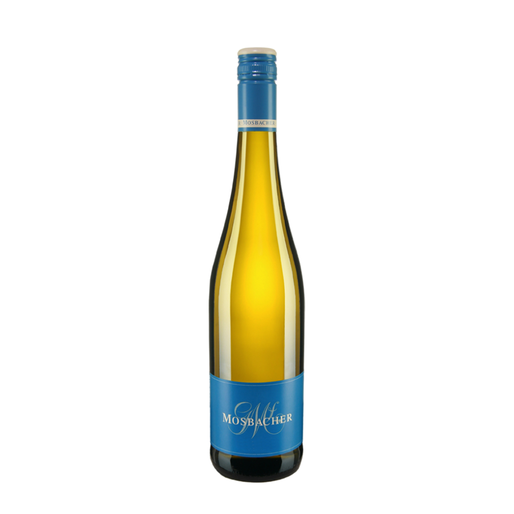 Riesling screw blue Georg Mosbacher Wine of Germany Michal Procházka Vinotéka Klánovice
