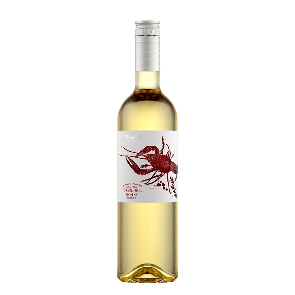 Ryzlink Rýnský 2020 Thaya Wine of Czech Republic Michal Procházka Vinotéka Klánovice