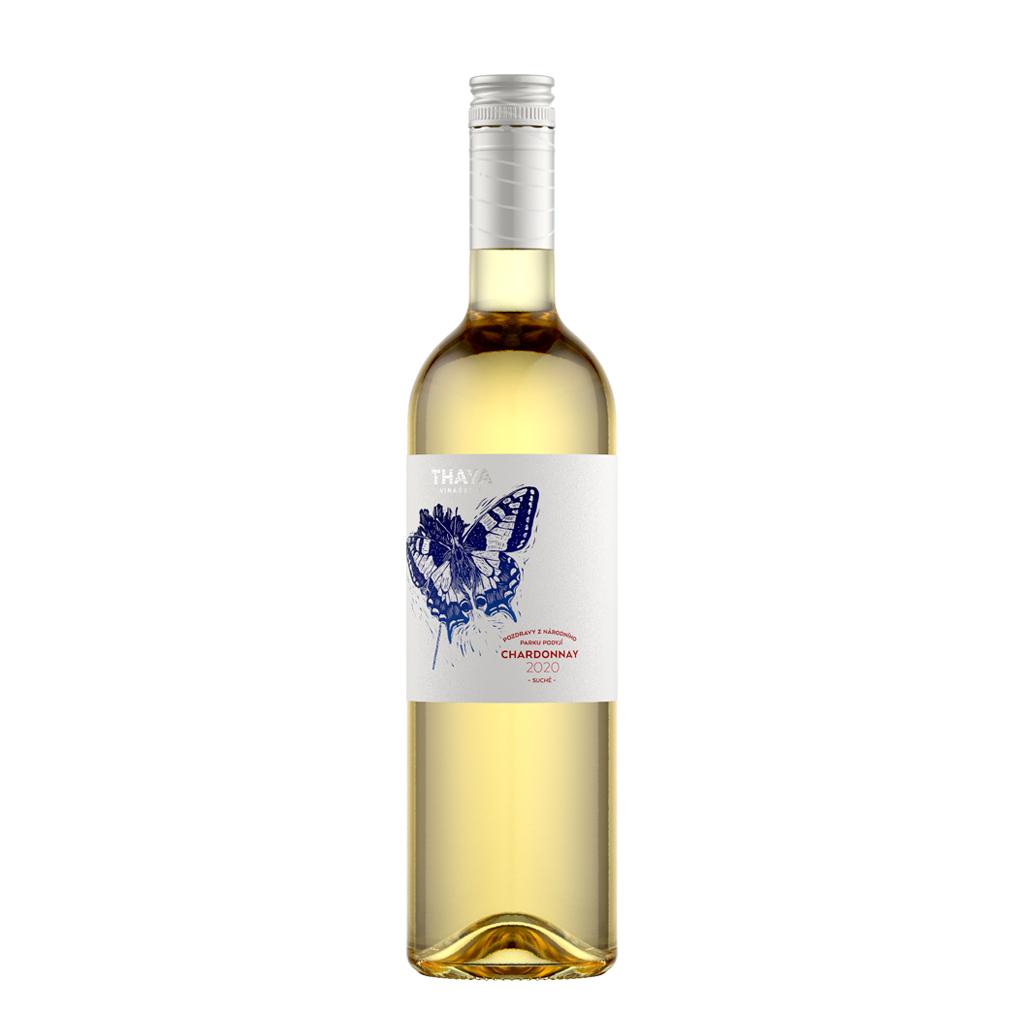 Chardonnay Pozdravy pozdní sběr 2020 Thaya Wine of Czech Republic Michal Procházka Vinotéka Klánovice