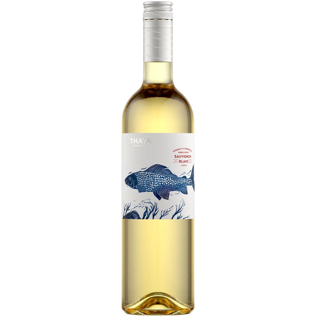 L Sauvignon Pozdravy ps suché 2020 Thaya Wine of Czech Republic Michal Procházka Vinotéka Klánovice