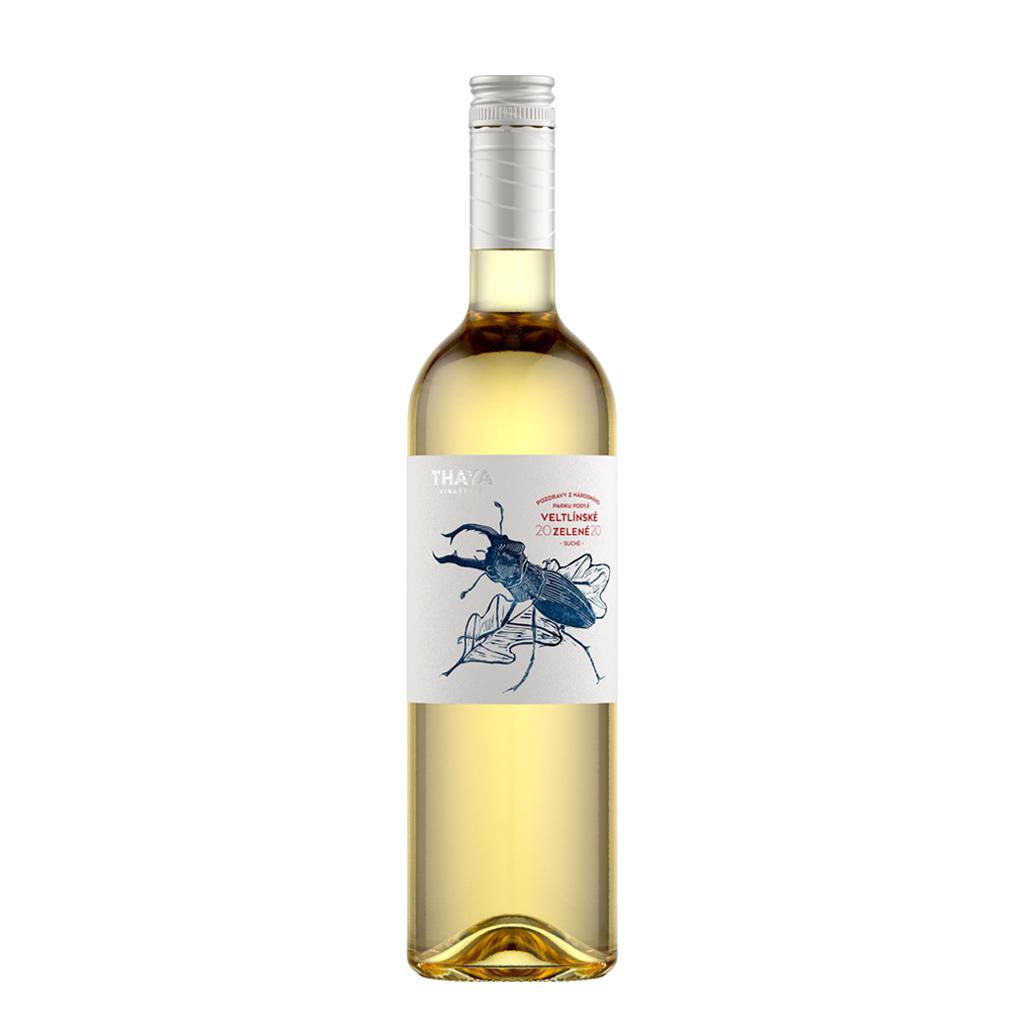 Veltlínské Zelené kabinetní suché 2020 Thaya Wine of Czech Republic Michal Procházka Vinotéka Klánovice