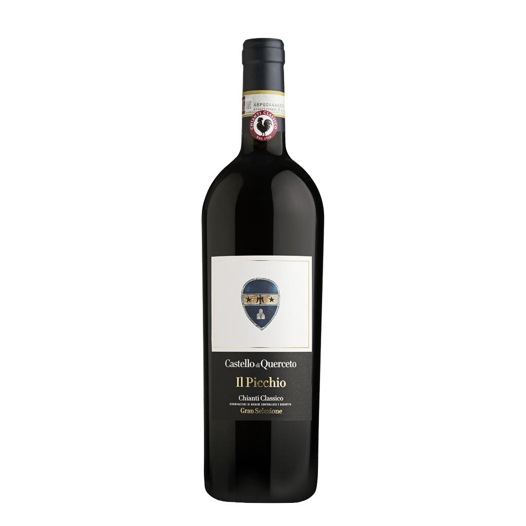 new Il Picchio Gran Selezione Chianti Classico Castello di Querceto Wine of Italy Michal Procházka Vinotéka Klánovice
