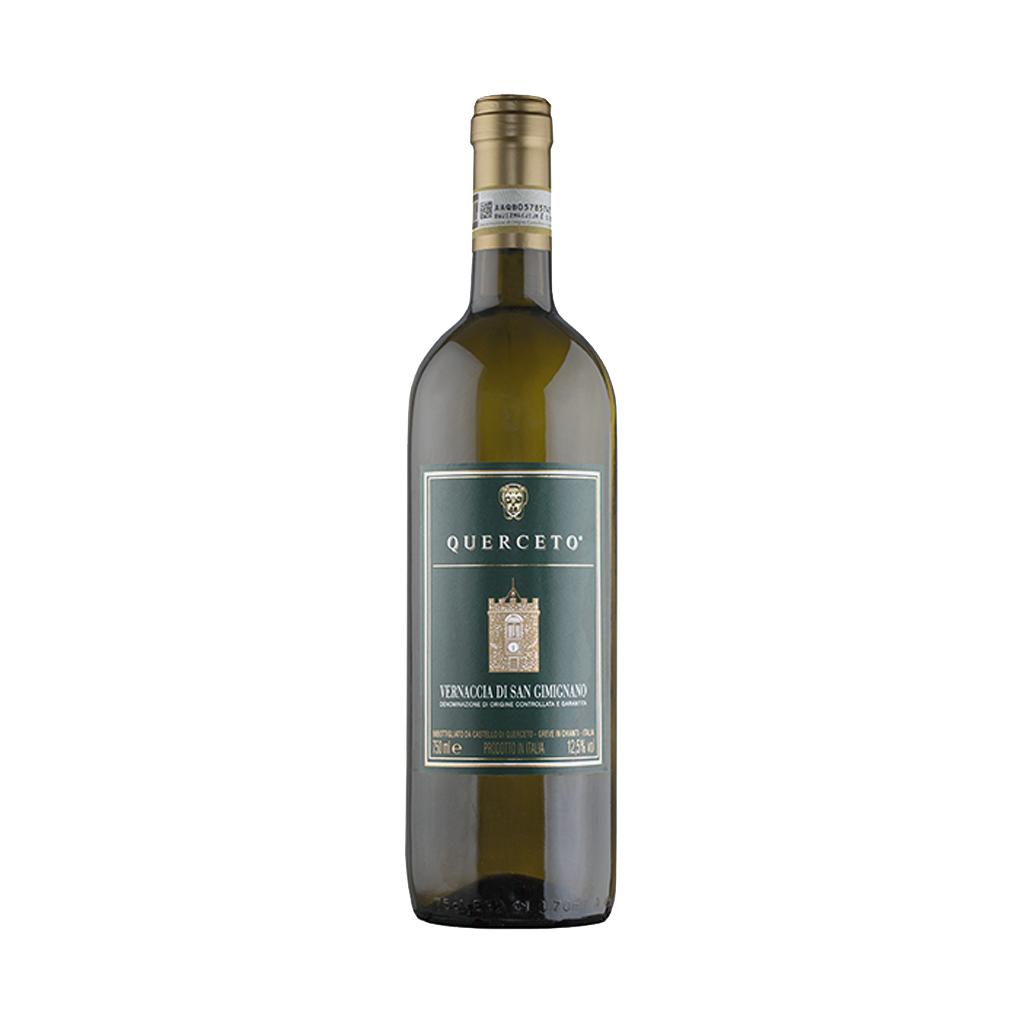Vernaccia di San Gimignano Castello di Querceto DOCG bianco www.vinotekaklanovice.cz Michal Procházka