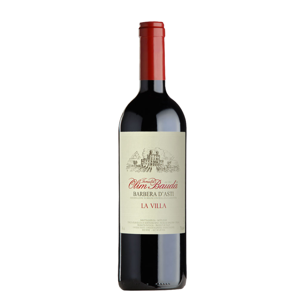 LA VILLA Barbera d Asti Superiore Olim Bauda Wine of Italy Michal Procházka Vinotéka Klánovice