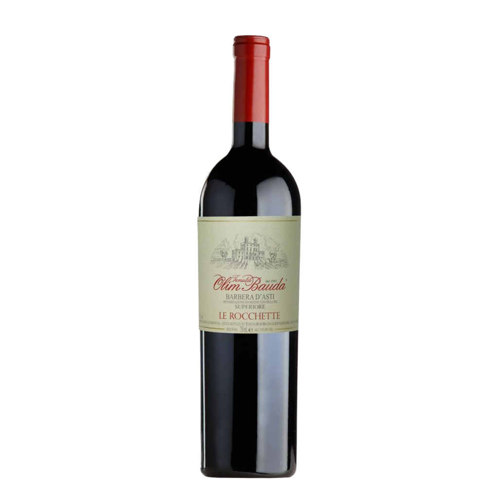 LE ROCCHETE Barbera d Asti Superiore 2017 Olim Bauda Wine of Italy Michal Procházka Vinotéka Klánovice