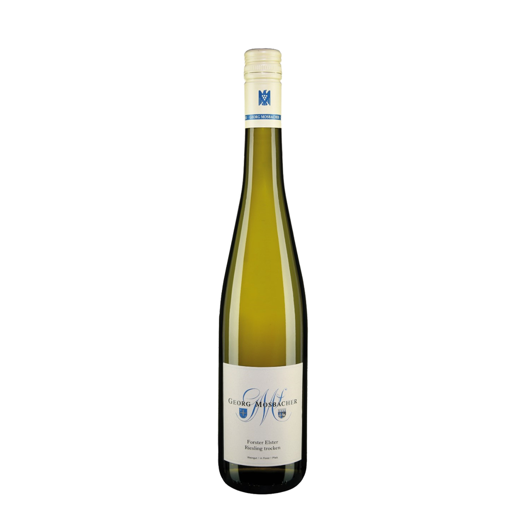 Forster Elster trocken 2019 Georg Mosbacher Wine of Germany Michal Procházka Vinotéka Klánovice