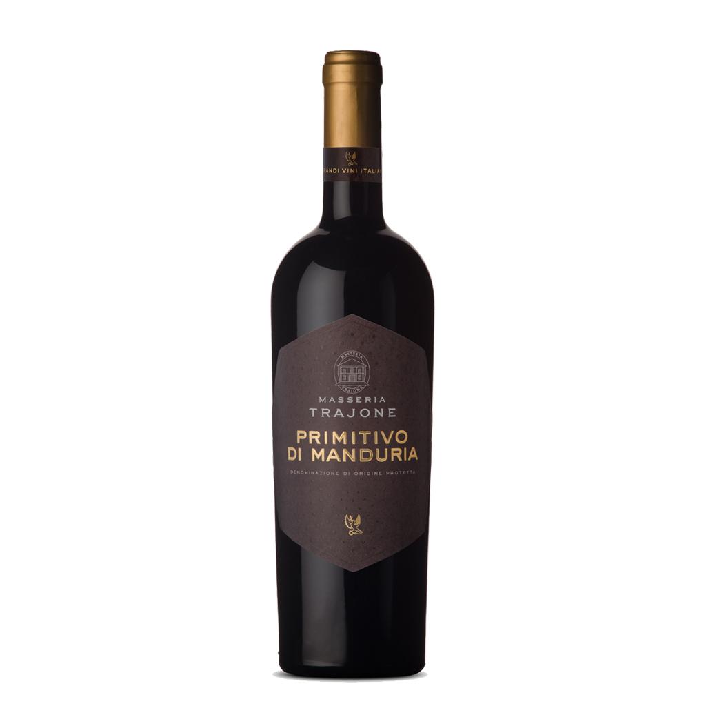 Masseria Trajone Primitivo Di Manduria 2019 Femar Wine of Italy Michal Procházka Vinotéka Klánovice
