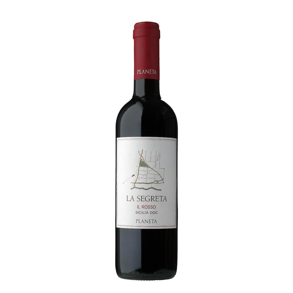 Rosso Planeta LA SEGRETA Wine of Italy Michal Procházka Vinotéka Klánovice